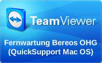 Fernwartung bereos OHG Mac (Quick Support)